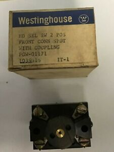 Westinghouse Hd Selector Switch 2 Position Pgw 01171 1039616
