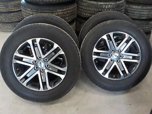 4 Ford 2021 F150 Factory 20 Wheels Hankook Tires 618g