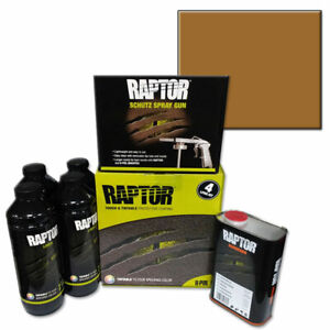 Upo 821 Tintable Raptor Bed Liner Kit With Light Brown Bed Liner Tint