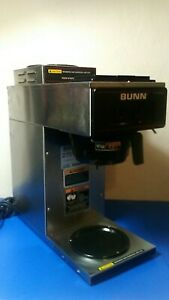 Used Bunn 13300 0002 Coffee Maker Vp17 2 Stainless no Coffee Pot Works Great