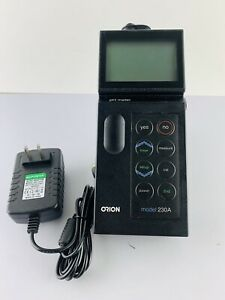 Thermo Orion Portable Ph Meter Model 230a meter With Power Supply Only