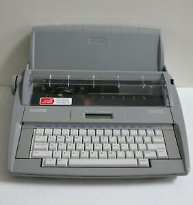 Brother Sx 4000 Electronic Typewriter W Keyboard Cover Tested Made In Usa