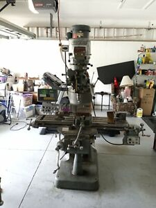 Bridgeport Milling Machine Used pick Up Only Series One 2hp With All Extras