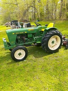 Satoh S650g Tractor With Finish Mower