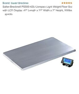 Salter Brecknell Ps500 Shipping Weighing Floor Scale 42