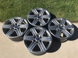 Ford F150 Xlt Lariat Fx4 Factory Stock 20 Inch Oem Wheels Expedition 20x8 5