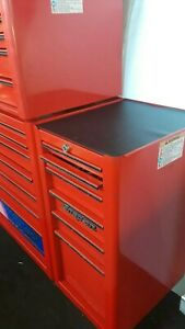 1 Snapon Add On Tool Box Side Cabinet With 6 Drawers 5 Others Are Extra