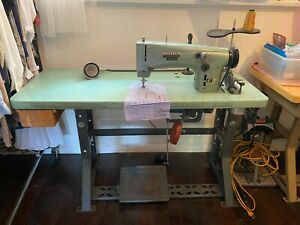 Consew Heavy Duty Industrial Sewing Machine Model C 99 With Table