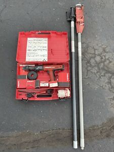 Hilti Dx 351 Fully Automatic Powder Actuated Tool With Case And X pt Poles