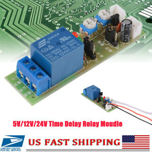 Dc 5v 12v 24v Infinite Loop Cycle Timing Timer Time Delay Relay On Off Module