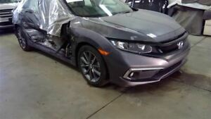 Front Clip Halogen Headlamps 1 5l Turbo With Fog Lamps Fits 19 Civic 2252472