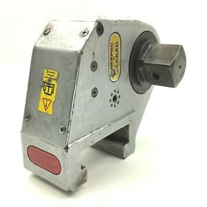 Enerpac Rv 10 Hydraulic Torque Wrench Head W 1 1 2 square Drive 7380 ft lbs