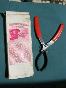 Blue Point Disc Brake Caliper Dust Boot Pliers Ya897 With Box Red Handles