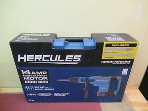 New Hercules He35 14 Amp 1 7 8 Sds Max type Variable Speed Rotary Hammer 56845