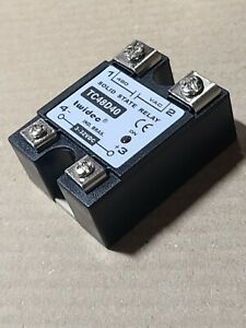 Twidec Solid State Relay 40a 3 32v Dc 24 480vac