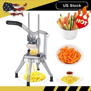 Stainless Steel 3 8 Blades French Fry Cutter Potato Vegetable Slicer Chopper