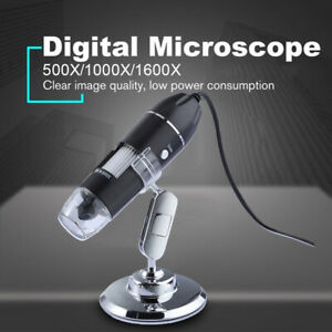 1600x Usb Digital Microscope Endoscope Magnifier Camera For Iphone android Phone