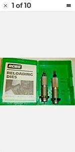 NEW RCBS Reloading 6MM REM F L 2 Die Set 11501 FREE SHIPPING $34.95