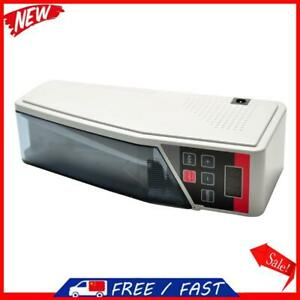 V40 Portable Mini Cash Count Money Currency Counter Counting All Bill Eu S1