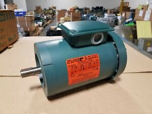 New Reliance 1 5 Hp 3 Phase Motor P14h1447t 230 460 Volt 1730 Rpm 7 8 Shaft
