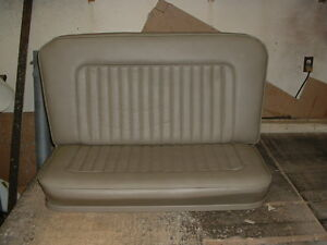 1932 Model A Hot Street Rod Bench Seat In Any Color You Want