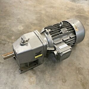 Nord Drive Type Sk 32 132m 4 Cus Gear Motor 10hp 1735rpm 208 230 460v