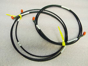 2 7 foot Sma Antenna True Time Microwave Lmr 195 Low Loss Ultraflex Cables