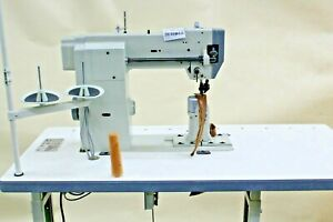 New Direct Drive Top And Bottom Roller Post Sewing Machine Tag 4950