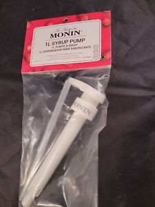 Monin Coffee Syrup Pump Topper Dispenser For Syurp Pump And Sauce Pumps