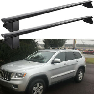 For 2011 2021 Jeep Grand Cherokee Crossbars Roof Rack Aluminum Abs Cargo Carrier
