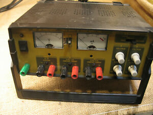 Bk Precision Triple Output Dc Power Supply 1651 used untested