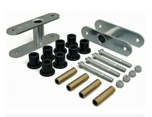 1987 1996 Jeep Wrangler 1 1 4 Inch Greasable Front Lift Shackle Kit