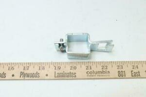 Teejet Nozzle Body Clamp For Square Tubing Zinc Plated Steel 1 Qj111sq1