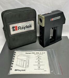 Raytek Raynger Pm Plus 6t103 Non Contact Infrared Thermometer W Case Battery