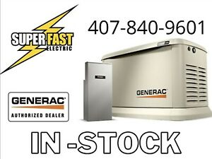Generac 22kw Guardian Air cooled Hsb Generator W 200a Service Rated Ats