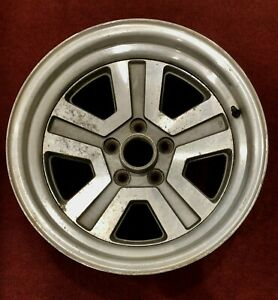1986 1989 Chrysler Conquest Mitsubishi Starion 16 X 8 Rear Oem Used Wheel Rare