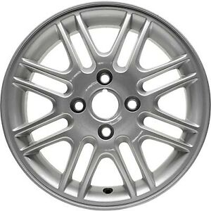 15 Inch Wheel Rim For 2000 2011 Ford Focus 15x6 Refinished Silver