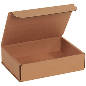 8 X 6 X 2 Kraft Corrugated Mailing shipping Boxes Ect 32b 500 Pieces