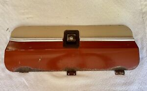 1973 1979 Ford Truck Bed Toolbox Door With Trim And Gasket Good Condition