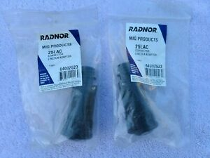Lot Of 2ea 25lac Connector Lincoln Adapter Radnor Mig Products New