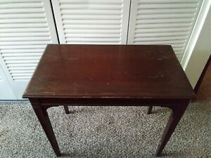 Small Vintage Wooden End Table Coffee Table