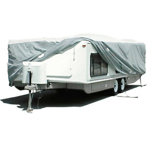 Adco Products 22894 Pop up Trailer Cover Tyvek White 14 1 16