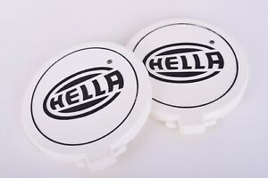 Hella 500 Light Cover Set Of 2 328 013 00 Used See Pictures