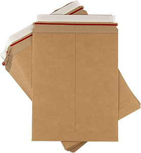 Rigid Mailers 25 Pack 9x11 5 Stay Flat Cardboard No Bend Shipping Envelopes Fo