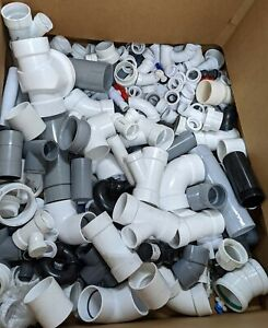 25 Lbs Assorted Lot Pvc Plumbing Fittings 1 2 4 Wholesale