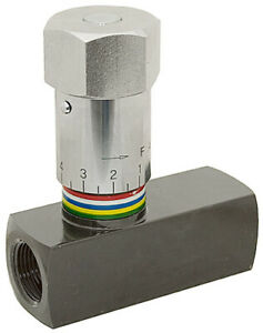 3 8 Npt 8 Gpm Prince Wfc 600 In line Flow Control 9 7960 6