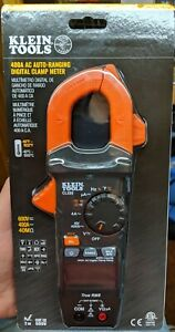 Klein Tools 400a Ac Auto ranging Digital Clamp Meter Model Cl320 New