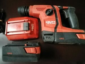 Hilti Te 6 a36 Avr Cordless Rotary Hammer Drill With 2 Batteries And Charger