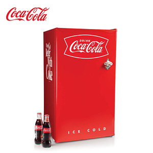 Limited Coca cola 3 2 Cu Ft Red Mini Refrigerator With Freezer Ice Tray