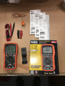 Klein Tools Mm6000 Electrician s hvac Multimeter True Rms Made In The Usa